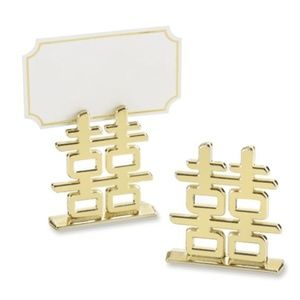 "Kate Aspen ""Double Happiness"" Place Card Holders"